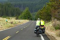 Three Capes Scenic Loop near Cape Lookout. Oregon Coast.