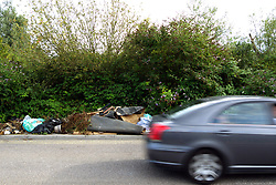 Fly tipping near A33, Reading to Basingstoke road
