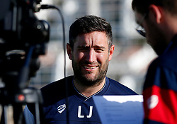Bristol City head coach Lee Johnson is interviewed before training - Mandatory by-line: Matt McNulty/JMP - 20/07/2017 - FOOTBALL - Tenerife Top Training Centre - Costa Adeje, Tenerife - Pre-Season Training