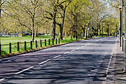 Bank Holiday Monday and Clapham Common and the South Circular is very quiet, a bonus for cyclists - it is sunny but much colder. The 'lockdown' continues for the Coronavirus (Covid 19) outbreak in London.