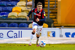 Declan John of Bolton Wanderers on the ball - Mandatory by-line: Ryan Crockett/JMP - 17/02/2021 - FOOTBALL - One Call Stadium - Mansfield, England - Mansfield Town v Bolton Wanderers - Sky Bet League Two
