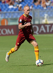 September 16, 2018 - Rome, Italy - Rick Karsdorp during the Italian Serie A football match between A.S. Roma and Chievo at the Olympic Stadium in Rome, on september 16, 2018. (Credit Image: © Silvia Lore/NurPhoto/ZUMA Press)