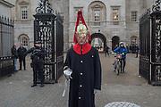 Guardsamn, London, . 5 December 2016.