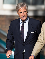 © Licensed to London News Pictures. 22/07/2019. London, UK. Richard Grosvenor Plunkett-Ernle-Erle-Drax MP arrives for Prime Minister Theresa May's farewell drinks reception at Downing Street.  Voting in the Conservative party leadership election ends today with the results to be announced tomorrow. Photo credit: Peter Macdiarmid/LNP