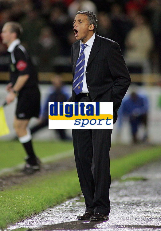 Photo: Paul Thomas.<br /> Chester City v Nottingham Forest. The FA Cup.<br /> 03/12/2005.