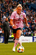 Scotlands Kirsty SMITH (Manchester United WFC (ENG))  during the International Friendly match between Scotland Women and Jamaica Women at Hampden Park, Glasgow, United Kingdom on 28 May 2019.