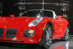 09 February 2006:  2007 Pontiac Solstice GXP.....Chicago Automobile Trade Association, Chicago Auto Show, McCormick Place, Chicago IL