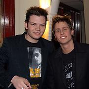Harpengala 2004, Bas Nibbink en Joel de Tombe