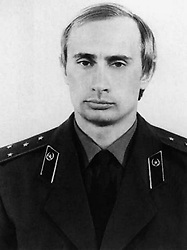 Before rising to power as one of the most infamous leaders in the world, Putin was a playful, hipster-dressing man in love. circa 1980 - Russia - A young VLADIMIR PUTIN in a KGB uniform. (Credit Image: © Russian Look via ZUMA Wire)