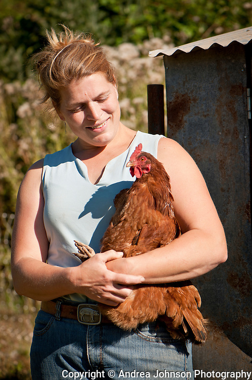 Clare Carver at Big Table Farm. Gaston, Willamette Valley, Oregon
