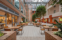 Mary Washington Hospital Atrium Interior design image in Frederickburg Virginia by Jeffrey Sauers of Commercial Photographics, Architectural Photo & Video Artistry