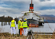Slipping of Maid of the Loch, Balloch, 10 January 2019
