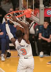 LA Lakers v NY Knicks - 05 January 2019