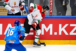 during ice hockey match between Slovenia and Lithuania at IIHF World Championship DIV. I Group A Kazakhstan 2019, on May 5, 2019 in Barys Arena, Nur-Sultan, Kazakhstan. Photo by Matic Klansek Velej / Sportida