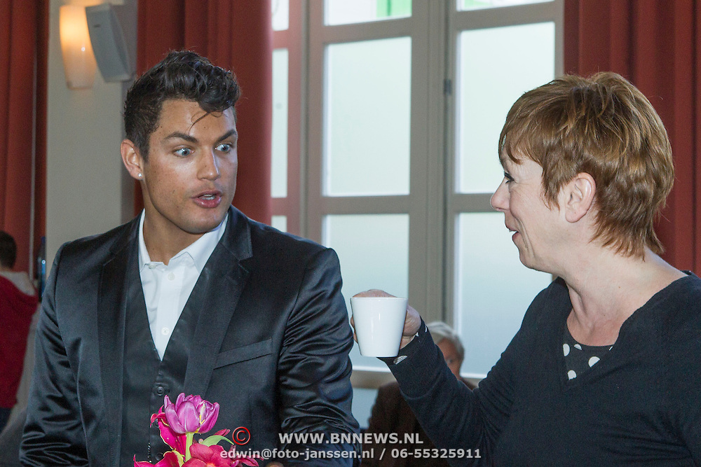 NLD/Amsterdam//20140322 - CD presentatie Amira, Gordon partner Chiel Ebbelaar