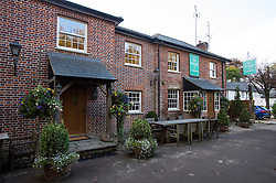 © Licensed to London News Pictures. 22/10/2015. Princess risborough, UK.  The Plough pub in Cadsden near Princess Risborough, Buckinghamshire which was visited by Chinese president XI JINPING and British prime Minister DAVID CAMERON. The pub was also well known for being where David Cameron left his daughter. Photo credit: Ben Cawthra/LNP