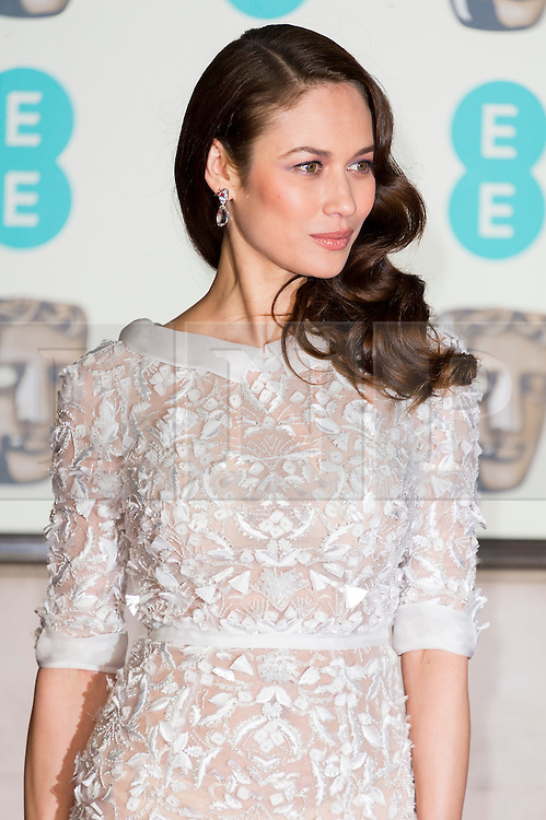 © Licensed to London News Pictures. 14/02/2016. London, UK. OLGA KURYLENKO <br /> arrives on the red carpet for the EE British Academy Film Awards 2016 after party held at Grosvenor House . London, UK. Photo credit: Ray Tang/LNPPhoto credit: Ray Tang/LNP