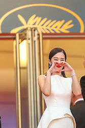 Jong-seo Jeon attend the screening of Burning during the 71st annual Cannes Film Festival at Palais des Festivals on May 16, 2018 in Cannes, France. Photo by Shootpix/ABACAPRESS.COM