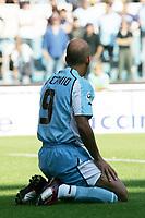 Fotball<br /> Italia 2004/05<br /> Lazio v Reggina<br /> 19. september 2004<br /> Foto: Digitalsport<br /> NORWAY ONLY<br /> Paolo Di CAnio Lazio