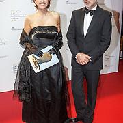 NLD/Amsterdam20151106 - Nationaal Opera Gala 2015, Chazia Mourali en partner Marc Schröder
