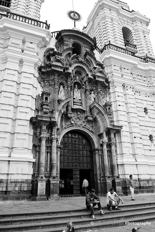 Saint Francis Monastery in Lima, Peru