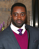 Curtis Martin at the Empire State Building