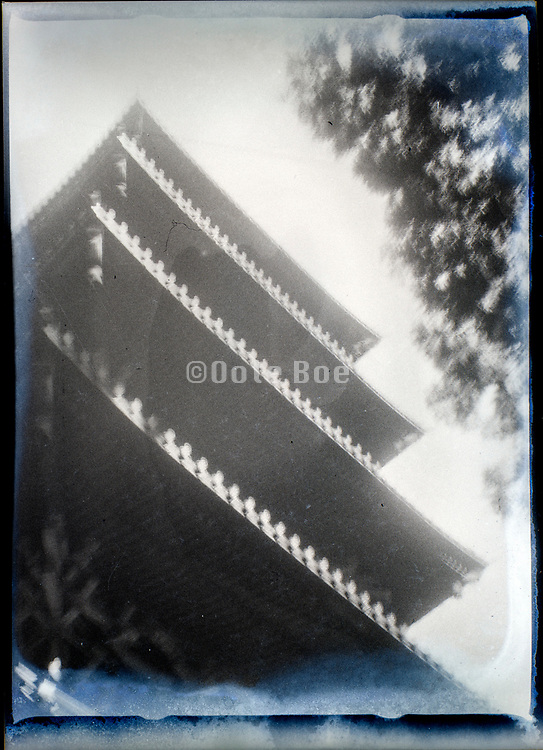 low angle view of pagoda building Japan