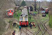 Strasshof, Austria.<br /> Opening of the season at Das Heizhaus - Eisenbahnmuseum Strasshof, Lower Austria's newly designated competence center for railway museum activities.
