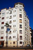 Maroc, Casablanca, avenue Hassan II// Morocco, Casablanca, Hassan II avenue