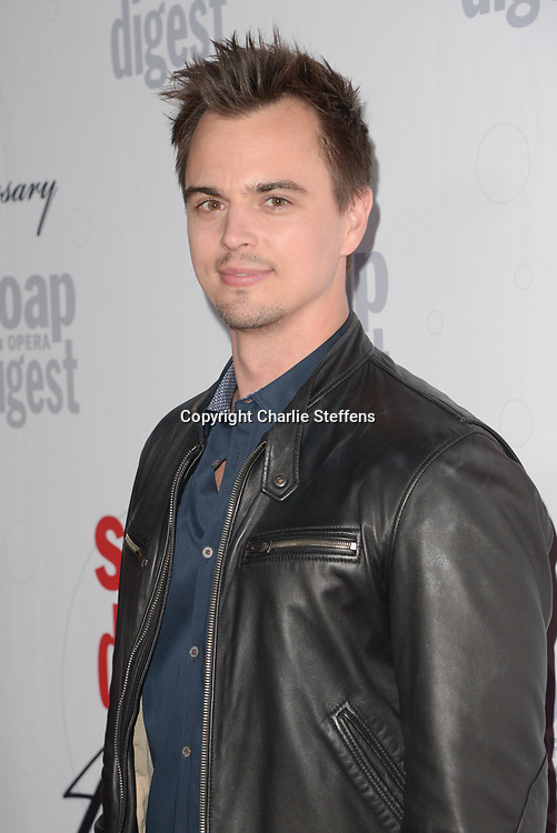 DARIN BROOKS at Soap Opera Digest's 40th Anniversary party at The Argyle Hollywood in Los Angeles, California