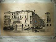 Illustration of The Palazzo Dolgin-Manin 1670.