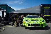 June 25 - 27, 2015: Lamborghini Super Trofeo Round 3-4, Watkins Glen NY. #89 Ryan Ockey, O'Gara Motorsport, Lamborghini of Vancouver, Lamborghini Huracan 620-2