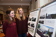Repro FREE Michelle Plumstead, Assistant Director, Aquinas College  and Eleanor Eggleston Student at the launch of Connemara West's  ambitious International Residential Education Centre at a briefing in the Hotel Meyrick, Galway . The Centre, in the village of Tullycross, County Galway will consist of a state-of-art newly built education hub with a 50 seat auditorium; a wifi-enabled library; group study/breakout rooms; video conferencing facilities; meeting rooms; a conference room; community meeting rooms and a coffee dock. <br /> The accommodation part of the Centre will be made up of the renovated iconic 9 thatched cottages in Tullycross village, Connemara West's first project in 1973, and will hold up to 40 students and faculty.<br /> Photo:Andrew Downes, xposure