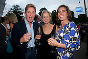 JOHNNIE BODEN, Alexandra Shulman, Editor of Vogue & Phil Popham, Managing Director of Land Rover<br /> host the 40th Anniversary of Range Rover. The Orangery at Kensington Palace. London. 1 July 2010. -DO NOT ARCHIVE-© Copyright Photograph by Dafydd Jones. 248 Clapham Rd. London SW9 0PZ. Tel 0207 820 0771. www.dafjones.com.