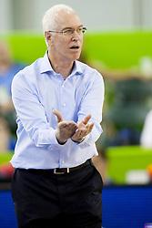 Arik Shivek, head coach of Isreal during basketball match between National teams of Israel and Belgium at Day 5 of Eurobasket 2013 on September 8, 2013 in Tivoli Hall, Ljubljana, Slovenia. (Photo By Urban Urbanc / Sportida)