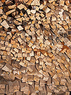 stack of fire=starting kindling wood for fireplace.