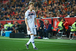 March 23, 2019 - Valencia, Valencia, Spain - Martin Odegaard of Norway national team during the European Qualifying round Group F match between Spain and Norway at Estadio de Mestalla, on March 23 2019 in Valencia, Spain  (Credit Image: © Maria Jose Segovia/NurPhoto via ZUMA Press)