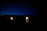 A Berber family in central Tunisia prepares for nightfall. Under development in many parts of Tunisia is common, and the Berber people in particular have felt left out of the post revolution political process. In this context Berber and Arab idenitities are being negotiated in new ways.