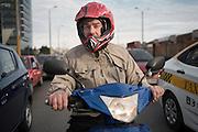 Motociclistas. Rambla portuaria y Colombia. Montevideo, 13/07/2016.<br /> URUGUAY / MONTEVIDEO / 2016<br /> Foto: Ricardo Antúnez / AdhocFOTOS<br /> día: martes<br /> www.adhocfotos.com