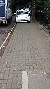 "These pictures will cause many road users to have reason feel aggrieved, the pictures taken by Martin Ovington in slough <br /> Martian said ""How ironic that the driver of the CCTV car was getting annoyed with me taking pictures of his parking!""<br /> ©Martin Ovington/Exclusivepix"