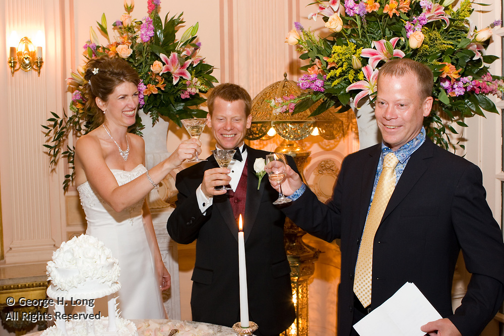 The wedding and reception of Anne Maze and Tim Keefer on June 18, 2005 at the Elms Mansion on St. Charles Avenue in New Orleans, Louisiana.