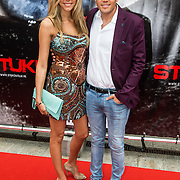 NLD/Almere/20140609 - Premiere Stuk de film, Kim Kotter en partner Jaap Reesema