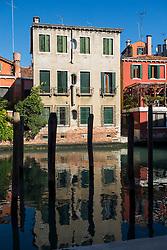 Buildings on Canal, Venice, Italy