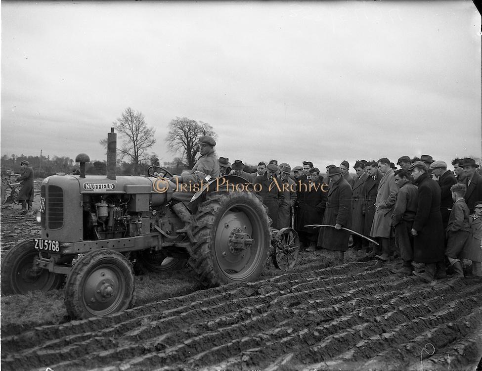 18/01/1954<br /> 01/18/1954<br /> 18 January 1954<br /> Ploughing Championships (Dublin) at Lispopple, Swords, Co. Dublin.<br /> 383-5424005