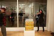 Pakpoom Silaphan 'Empire State' Opening Reception, Scream. Eastcastle St. London. 21 February 2013