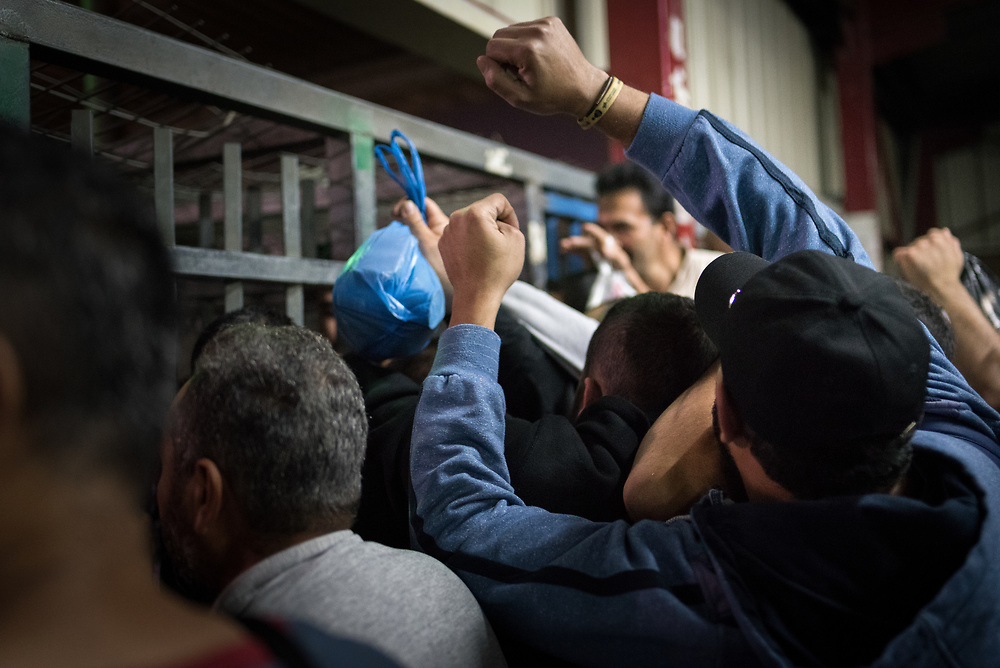 8 October 2018, Jerusalem, Occupied Palestinian Territories: Today is a Monday, and Qalandiya is crowded with men of all ages queuing to go to work. People are let through intermittently, some 20-50 people at a time, all under careful control of Israeli security personnel. Qalandiya has three turnstiles, each preceded by a narrow metal pathway made to constrain more than one person from going through at a time. As one turnstile is suddenly closed shut, people rush, push and climb to make it into one of the other two. Qalandiya is the main checkpoint between the northern West Bank and Jerusalem, where thousands upon thousands of Palestinians try to make their way to Jerusalem each day. Ecumenical accompaniers (EAs) from the World Council of Churches' Ecumenical Accompaniment Programme in Palestine and Israel (WCC-EAPPI) visit regularly in the early mornings. Their task is to be an international presence and to show solidarity, offer basic support to anyone denied passage, and collect documentation of the situation at the checkpoint. EAs' reports feed into the UN system, providing ongoing monitoring of the human rights situation in Israel and Palestine.