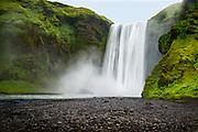Skógafoss waterfall, South Iceland