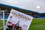 General view (GV) inside the Priestfield Stadium during the The FA Cup 3rd round match between Gillingham and Cardiff City at the MEMS Priestfield Stadium, Gillingham, England on 5 January 2019. Photo by Martin Cole.