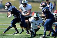 Elyria Catholic at Cleveland Central Catholic high school varsity football in Cleveland, Ohio, Saturday, Sept. 5, 2015. Images copyright © David Richard / www.davidrichardphoto.com