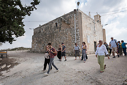 10 October 2018: A group of Ecumenical Accompaniers from the World Council of Churches' Ecumenical Accompaniment Programme in Palestine and Israel visit the Palestinian village of Iqrit.